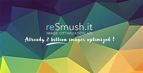 WordPress image optimization plugins: resmushit