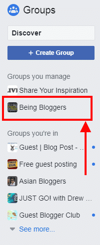 Being Bloggers