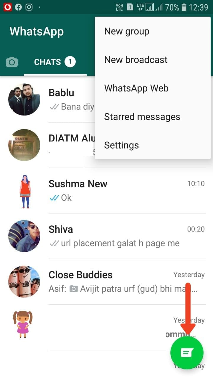 How To Refresh WhatsApp in Android