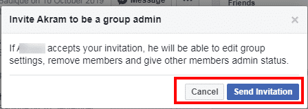 how to add admin on Facebook group-2