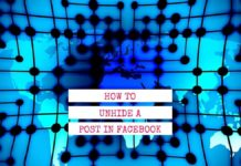 how to unhide a post on facebook